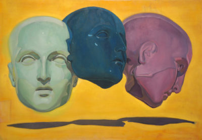 Petr Mucha - Three heads