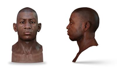 Petr Mucha - gangsta 3D game character head model
